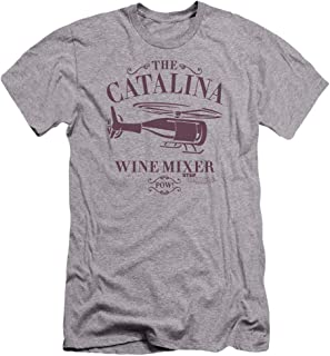 Step Brothers Catalina Wine Mixer Unisex Adult Canvas Brand T Shirt for Men and Women