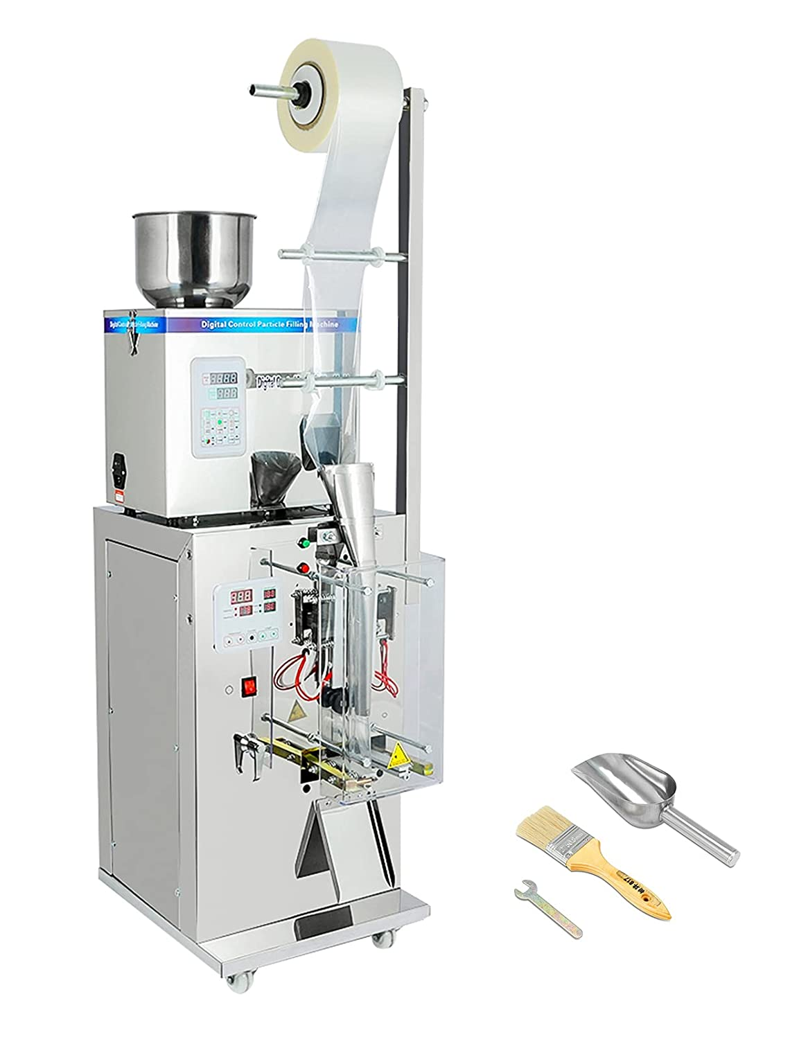 Finally resale start 110V outlet 500W Automatic Particles Powder Filling Pack and Weighing