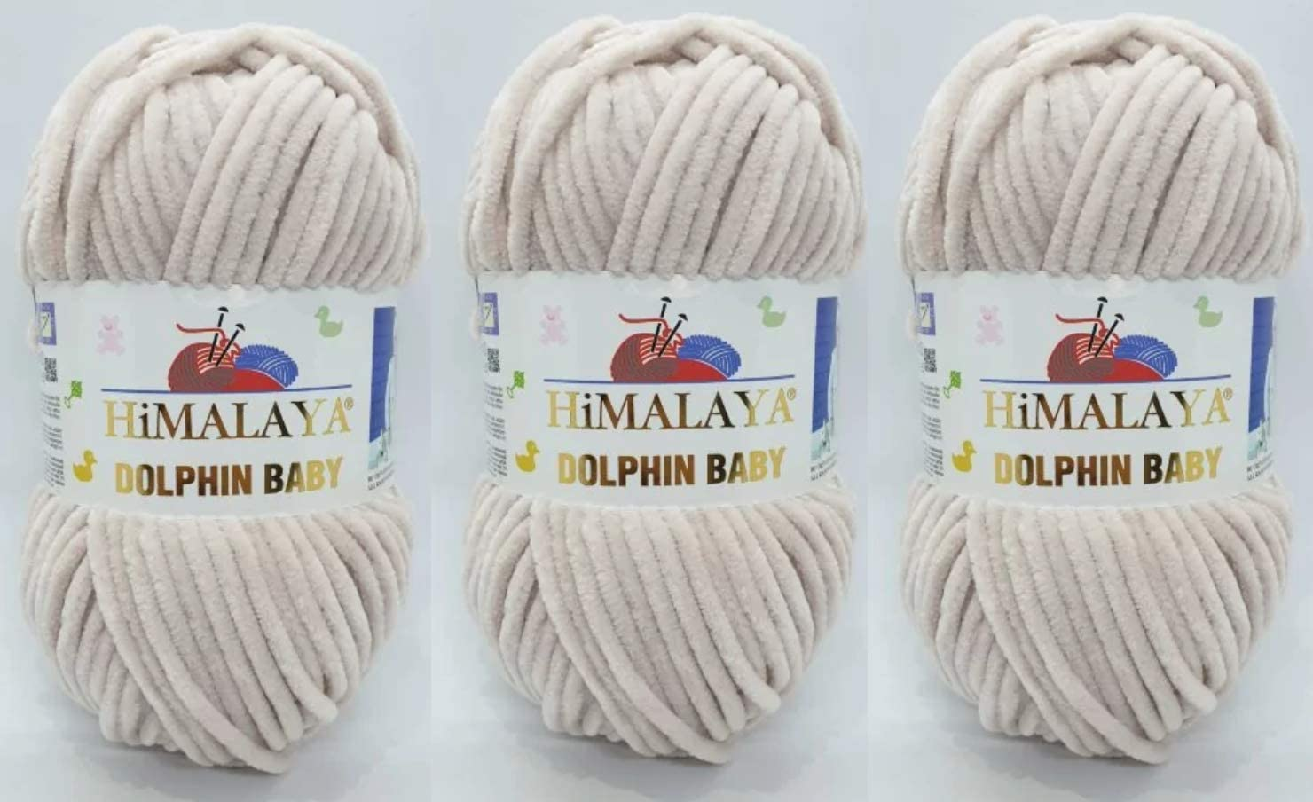 3 Skeins Himalaya Dolphin Baby Directly managed store Yarn 3x100gram Bu 395 Popular brand in the world Super Yards