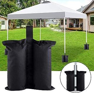 grande apertura per la sabbia fillable portaombrelli titolare allaperto patio ombrelli YELAIYEHAO un pezzo unico ombrello base Umbrella Base, BLACK