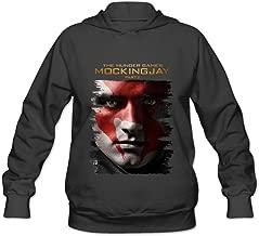 Women's The Hunger Games Mockingjay Part 1 Hoodies Black