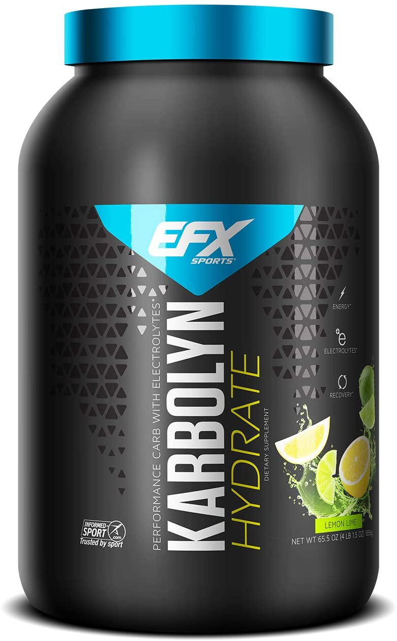 EFX Sports Karbolyn NEW before selling Hydrate Max 60% OFF Carbohyd Sugar-Free Drink