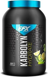EFX Sports Karbolyn Hydrate | Sugar-Free Sports Drink | Carbohydrate Supplement Powder + Electrolytes | Carb Load, Energiz...