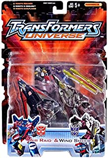 Transformers Universe Robots in Disguise Air Raid & Wind Sheer Action Figure (Hasbro Toys)