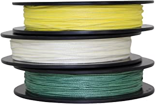 SGT KNOTS Braided Spectra Bowfishing Line (200 lb) Industrial Strength Spectra Cord - Durable Fishing Line - Abrasion, Sunlight/UV Rays Degradation, Rot Resistant (100 ft - Three Colors)