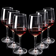 YYH Glass Red Wine Glass, Wine Glass, Goblet, Champagne Glass, Juice Cup, Table Wine Glass, 6 Sets