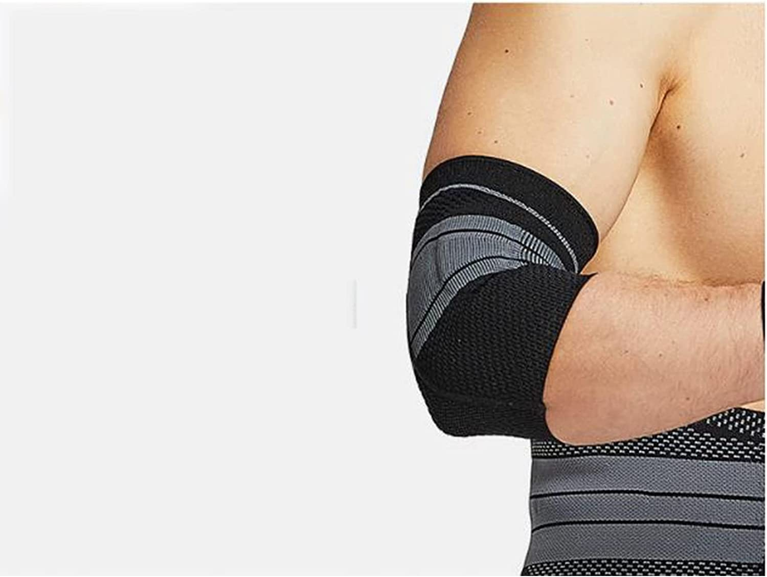Anti-Collision Elbow Brace Supports Knitted Compressi Louisville-Jefferson County Mall Breathable Ranking TOP13