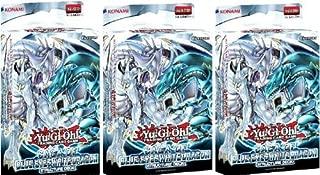 YuGiOh 3x Saga of Blue-Eyes White Dragon Structure Deck