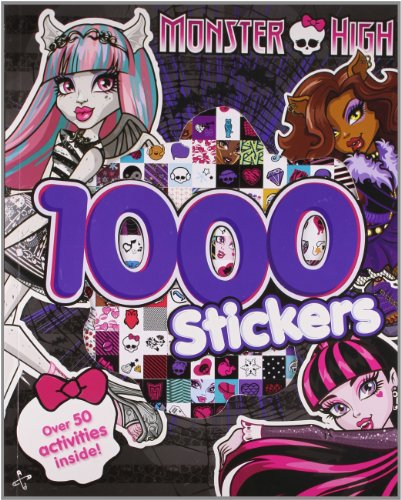 Monster High 1000 Stickers: Over 50 Activities Inside!