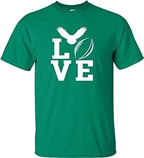 Adult Love Football Philadelphia T-Shirt