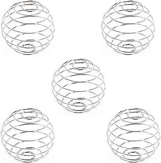 Uteruik Mixerboll rostfritt stål mixer visp 3 cm x 3 cm, 5 st (reserv för Protein Shaker)
