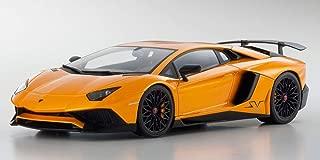 Kyosho Lamborghini Aventador LP 750-4 Superveloce Orange 1/18 Model Car C 09521 P