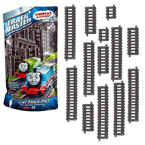 Thomas ei suoi Amici - Set Rail Dritti di Espansione - Trackmaster Revolution - Mattel Thomas and Friends