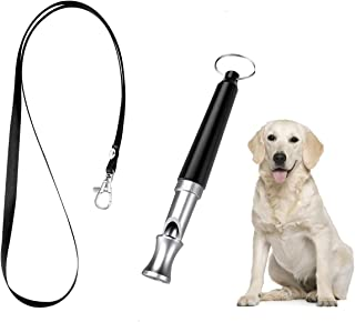 LIPET Dog Whistle, Professional Dog Training Whistle to Stop Barking, Adjustable Frequency Ultrasonic Sound Training Tool