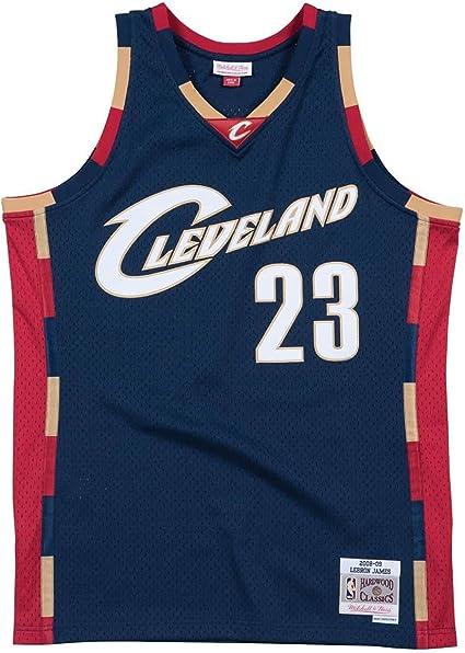 Mitchell & Ness Cleveland Cavaliers Lebron James 2008 Alternate Swingman Jersey