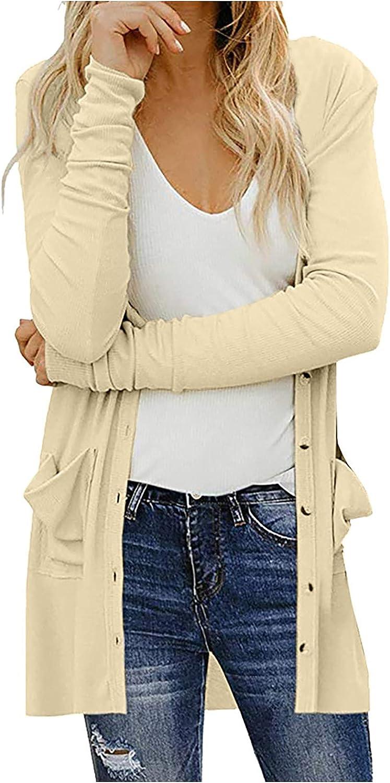 SERYU Womens Draped Kimono Cardigan Long Sleeve Open Front Casual Knit Sweaters Coat Soft Outwear