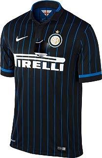 Nike Inter Milan Home Soccer Jersey, Black/Blue