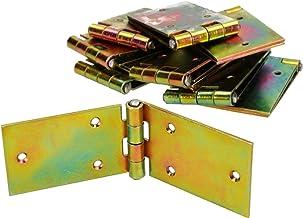200 x 50 mm, 10 unidades, galvanizada, amarilla Bisagra para muebles KOTARBAU/®
