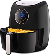 Pro Breeze 4.2L Air Fryer 1400W with Digital Display, Timer and Fully Adjustable Temperature Control for Healthy Oil Free & Low Fat Cooking