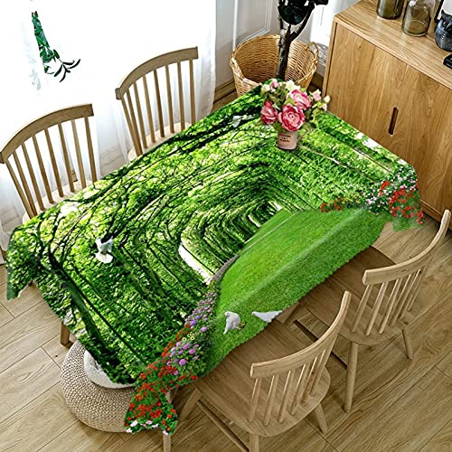 Aeici Mantel Estampado Vintaje 90X140Cm, Manteles De Tela Poliéster para Cocina, Mantel Rectángulo