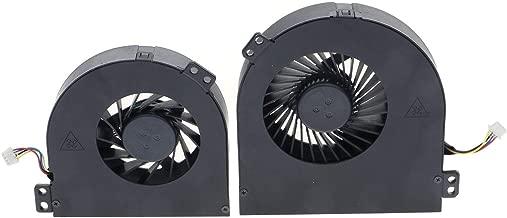 New CPU+GPU Cooling Fan for Dell Precision M4700 Laptop, P/N: 01G40N 0CMH49 DC28000B2SL DC28000B2VL DC28000B2DL