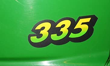 John Deere Lower Hood Decal Set for 335 Tractors M134882