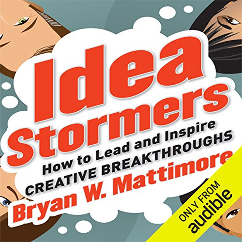 Idea Stormers audiobook cover art