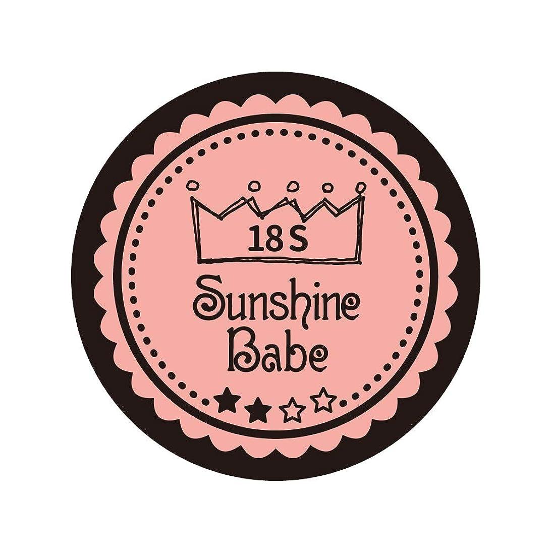 騙す器具五十Sunshine Babe コスメティックカラー 18S ロマンティックベリー 4g UV/LED対応