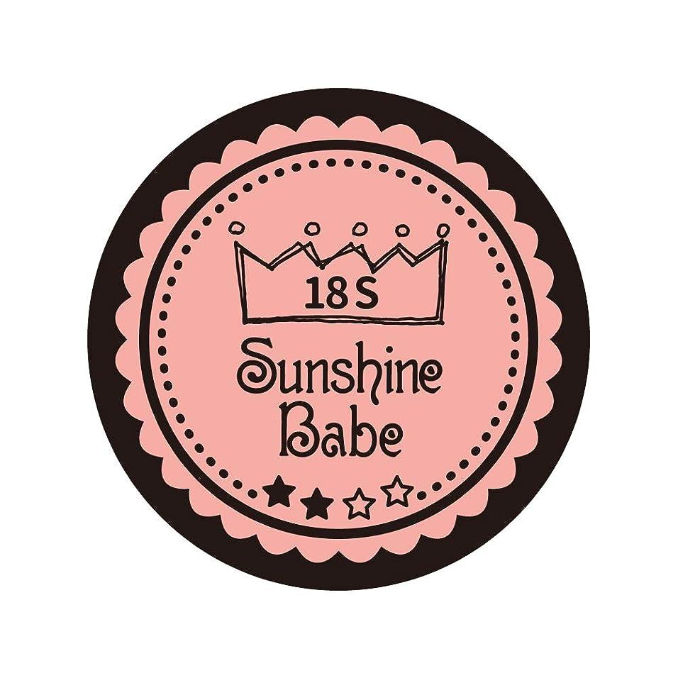 神経障害政治的緊張するSunshine Babe コスメティックカラー 18S ロマンティックベリー 4g UV/LED対応