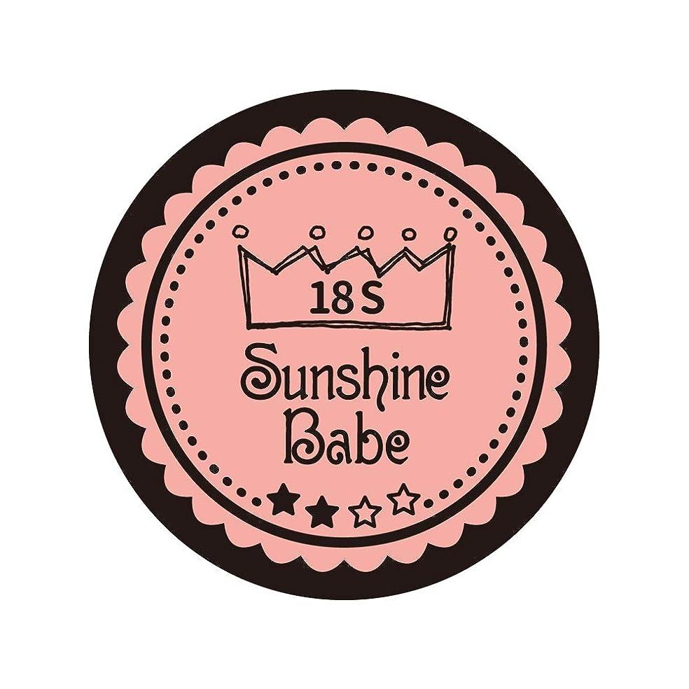 ネットスケッチ略語Sunshine Babe カラージェル 18S ロマンティックベリー 2.7g UV/LED対応