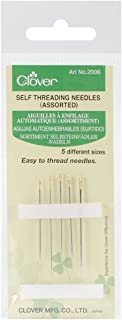 CLOVER Self-Threading Needles, Assorted