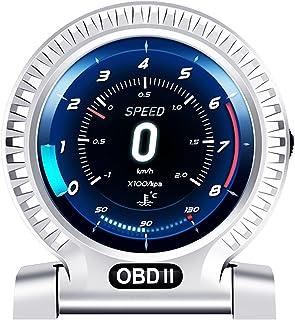 Romacci Instrumento LCD OBD do carro Velocímetro de alta definição Ferramenta de diagnóstico do carro OBDⅡ Eliminação do c...