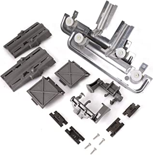 W10712395 Dishwasher Rack Adjuster Kit for Whirlpool & Kenmore Dishwashers- Replace W10250159, W10350375, W10350375, W10712395VP, AP5957560, PS10065979