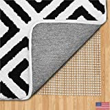 Gorilla Grip Original Area Rug Gripper Pad, 2x3, Made in USA, for Hard Floors, Pads Available in Many Sizes, Provides Protection and Cushion for Area Rugs, Carpets and Floors