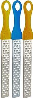 Stainless Steel Orange Zester - Pack of 3 - Lemon Lime Zest Tool Professional Lemo Grater