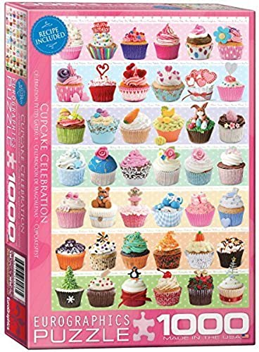 Eurographics Cupcakes Occasions Puzzle (1000 Pieces) by Eurographics