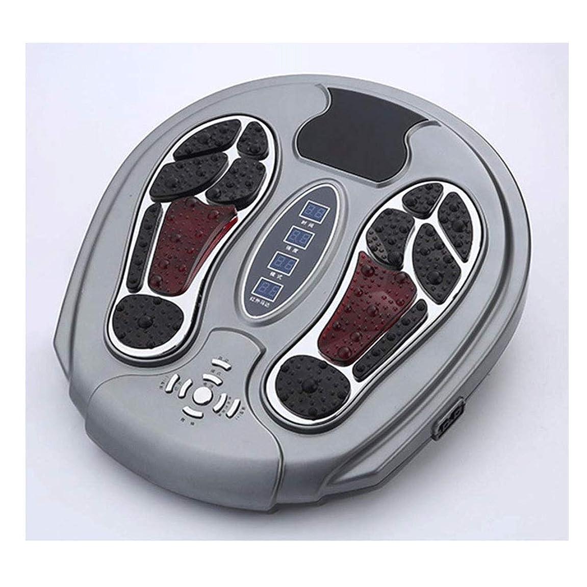 資金無知力強いLLRYN フットマッサージャー、熱、指圧加熱エレクトリックキーディングフットマッサージャーマシンの痛みを軽減、治療強度のある家庭用マッサージ