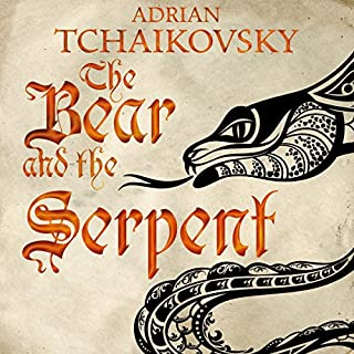 The Bear and the Serpent     Echoes of the Fall, Book 2              Autor:                                                                                                                                 Adrian Tchaikovsky                               Sprecher:                                                                                                                                 Kyla Garcia                      Spieldauer: 16 Std. und 50 Min.     7 Bewertungen     Gesamt 4,4
