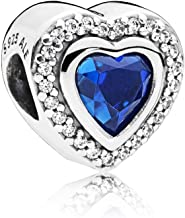 PANDORA Sparkling Love, Clear CZ & Blue Crystal