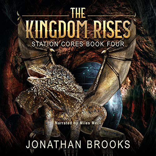 The Kingdom Rises audiobook cover art