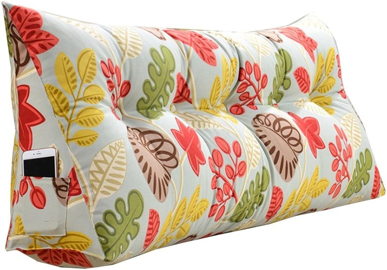 Coussins triangulaires détachables de mode dossier doux de lit de coussins de lit de sac d'oreiller (taille   150  50  20cm)