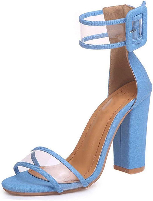 Houfeoans Woman Sandals gold Metallic Clear Strap High Heels Fashion Transparent Summer shoes Footwear