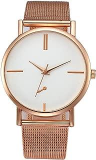 Triskye Women Analog Quartz Watches Classic Luxury Business Casual Stainless Steel Strap Band Wrist Watch Ladies Wristwatch Bracelet for Teen Girls