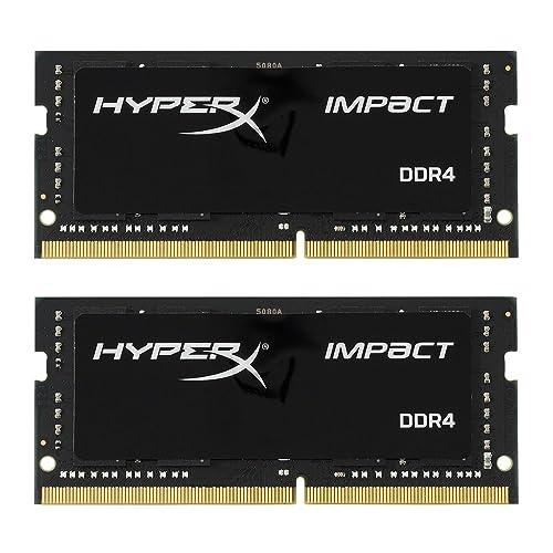 Kingston Technology HyperX Impact 32GB Kit (2x16GB) 2133MHz DDR4 CL13 260-Pin SODIMM