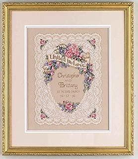 wedding aniversary in rose design cross stitch kit, 14ct, Cotton thread 140180stitch, 3543 cm cross stitch kits