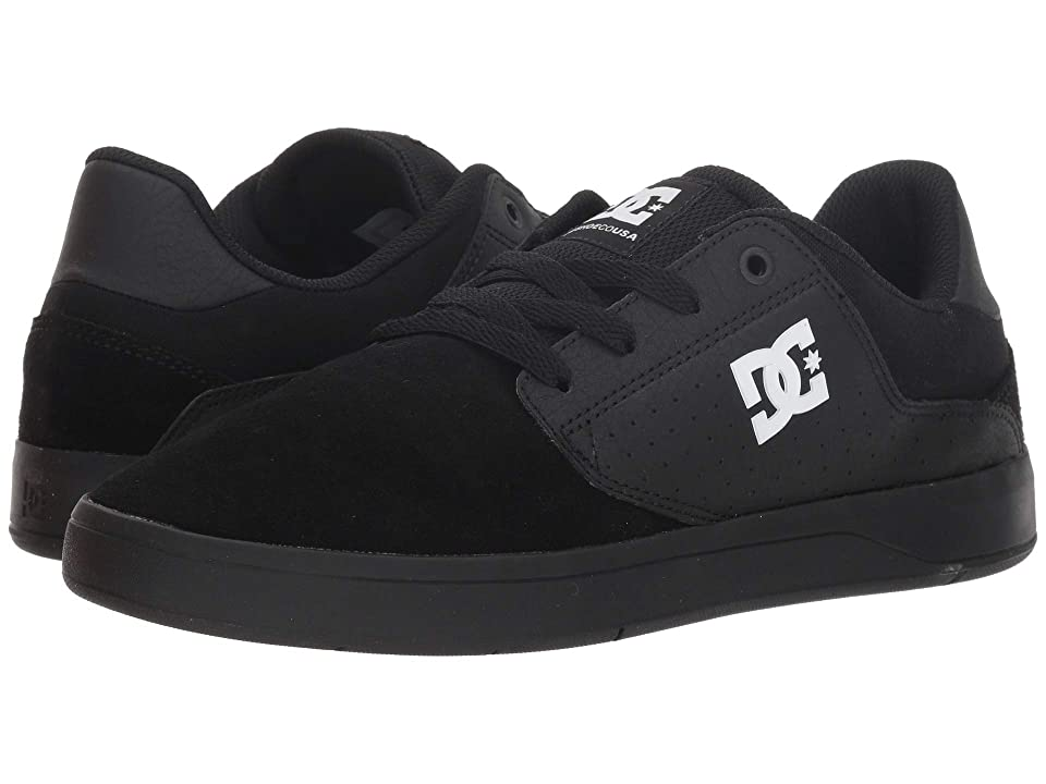 DC Plaza TC (Black/Black/White) Men