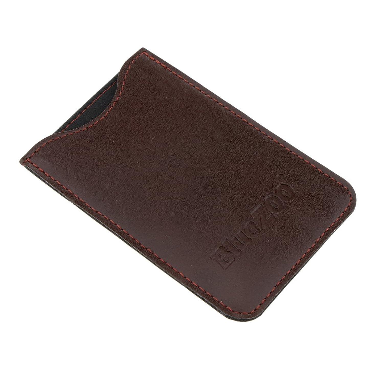 控える言う外出Perfeclan コンビバッグ PUレザー 櫛バッグ ポケット オーガナイザー 収納ケース 保護カバー パック 全2色 - 褐色