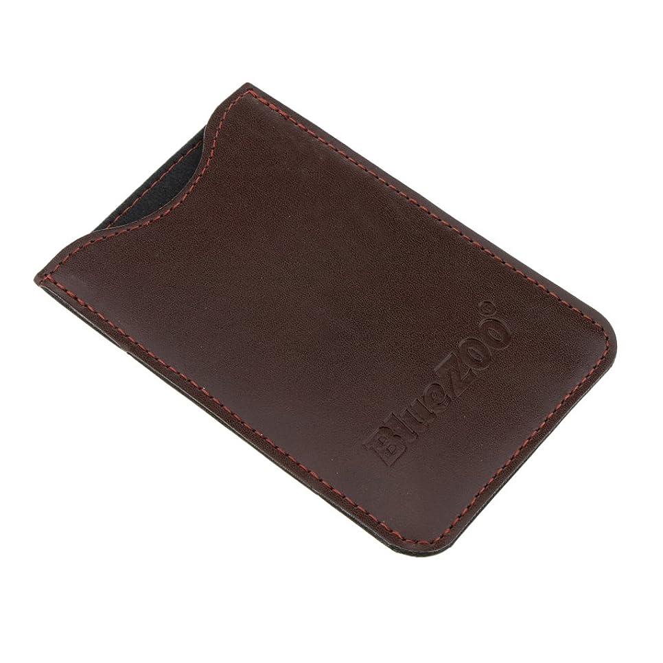 太陽定期的にファンタジーHomyl 収納パック 収納ケース 保護カバー 櫛/名刺/IDカード/銀行カード 多機能 高品質 全2色  - 褐色
