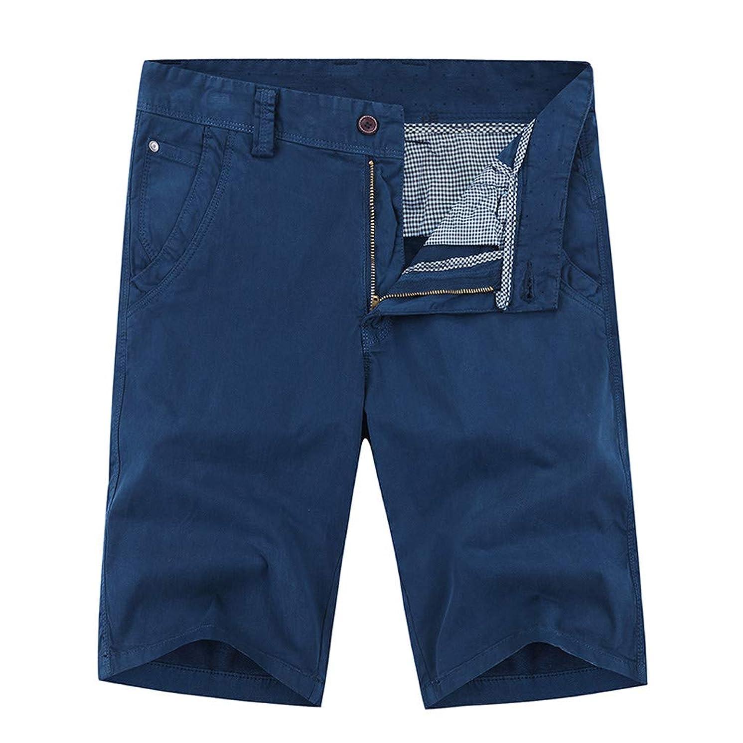 Mens Shorts Casual Men Shorts Cargo 5 Inch Mens Shorts with Zipper Pockets Pants