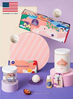 DIY Essential Oil Bath Bomb Making Kit, Creates 15 Luxurious Bath Bombs with EVERYTHING You Need